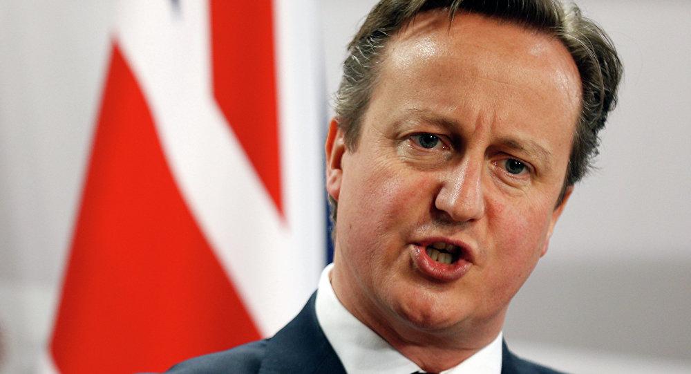 Permier britannico David Cameron