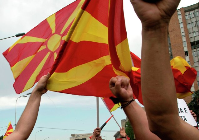 Proteste in Macedonia