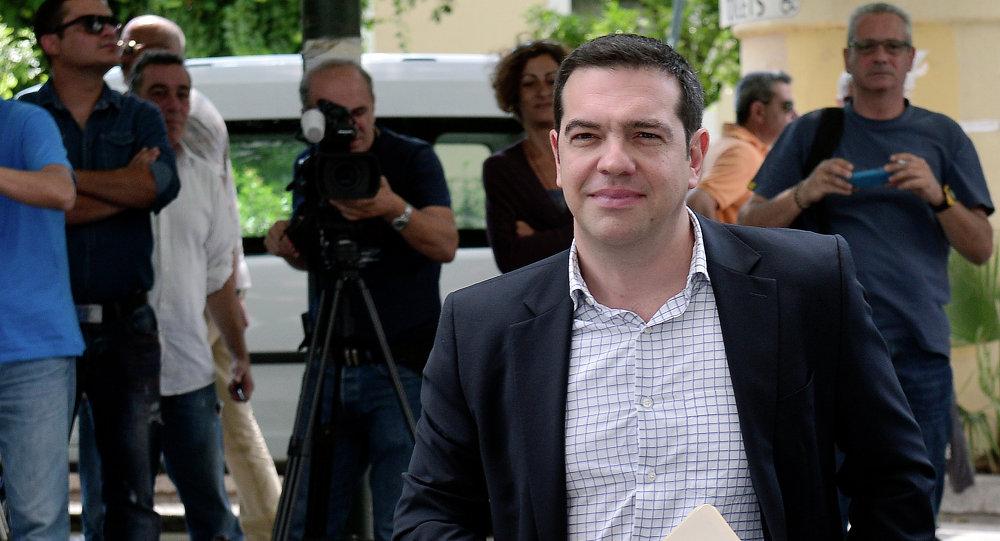 Primo ministro greco Alexis Tsipras