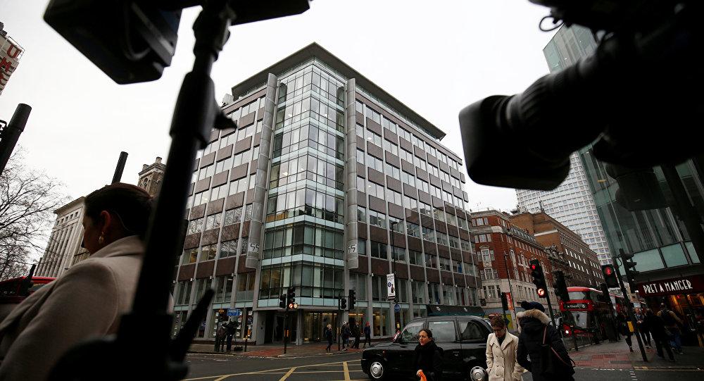 Gli uffici di Cambridge Analytica a Londra