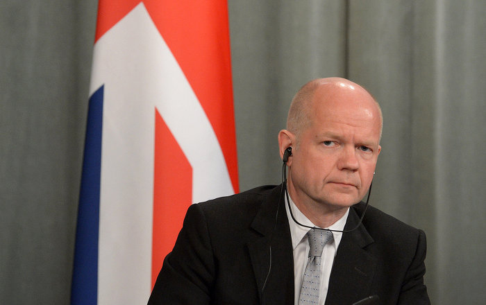Ex Ministro degli esteri inglese William Hague