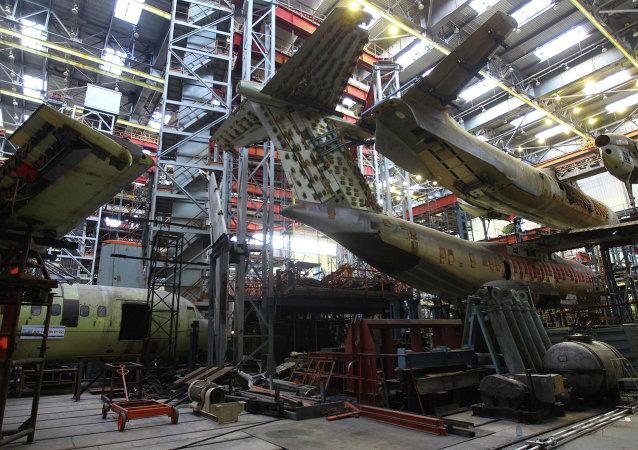 Impianto della società aeronautica ucraina Antonov