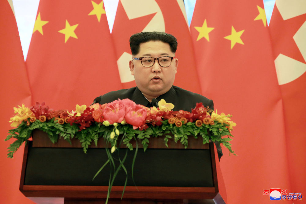 La visita di Kim in Cina