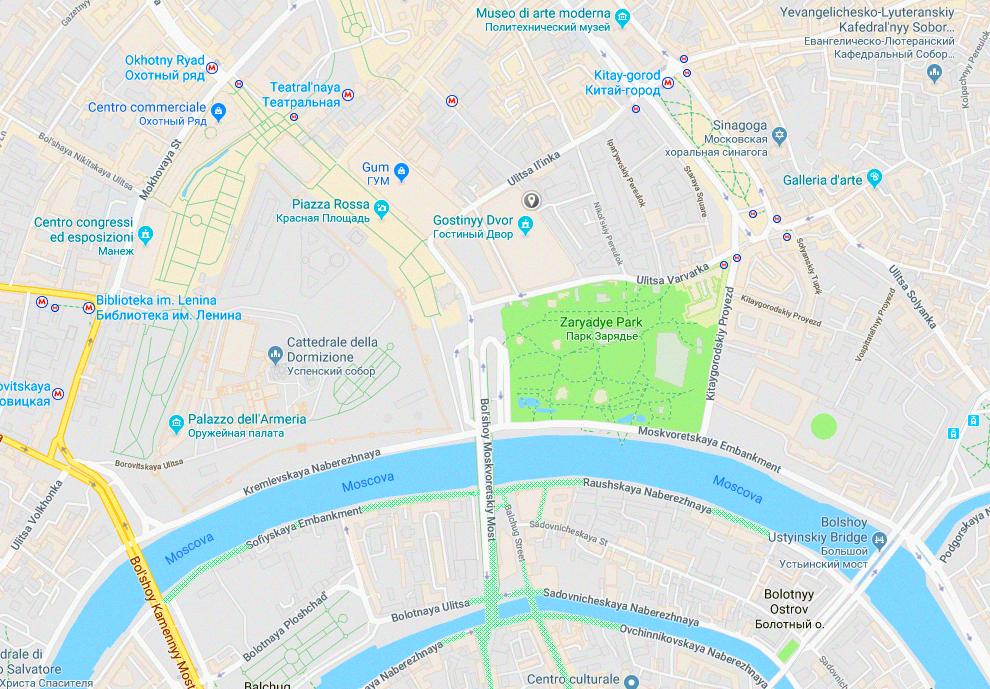 Dove vedere la parata del 9 maggio a Mosca: isola Bolotnaya e lungofiume a sud della Piazza Rossa