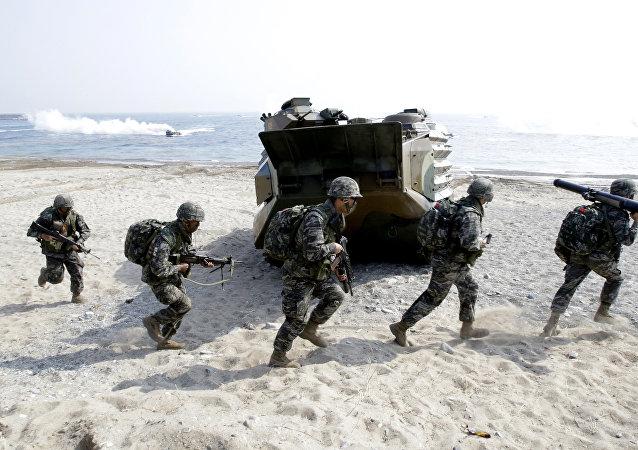 Esercitazioni USA-Corea del Sud (foto d'archivio)