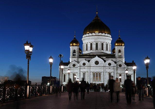Mosca, la chiesa di Cristo Salvatore