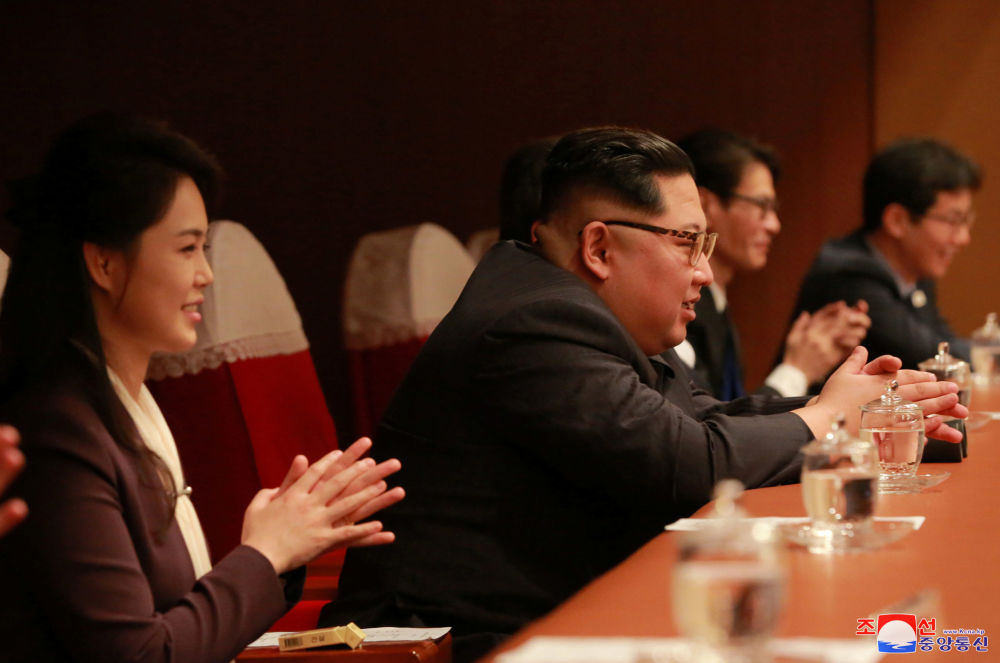 Kim al concerto delle star sud coreane