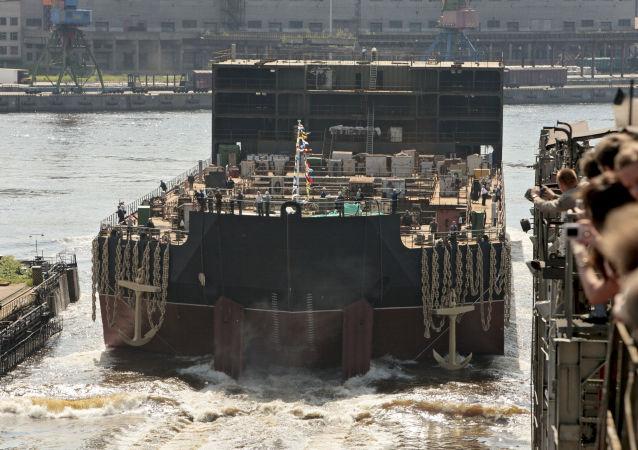 Centrale nucleare galleggiante