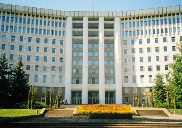 Il Parlamento della Moldavia (foto d'archivio)