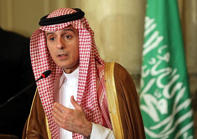 Ministro saudita Adel al-Jubeir