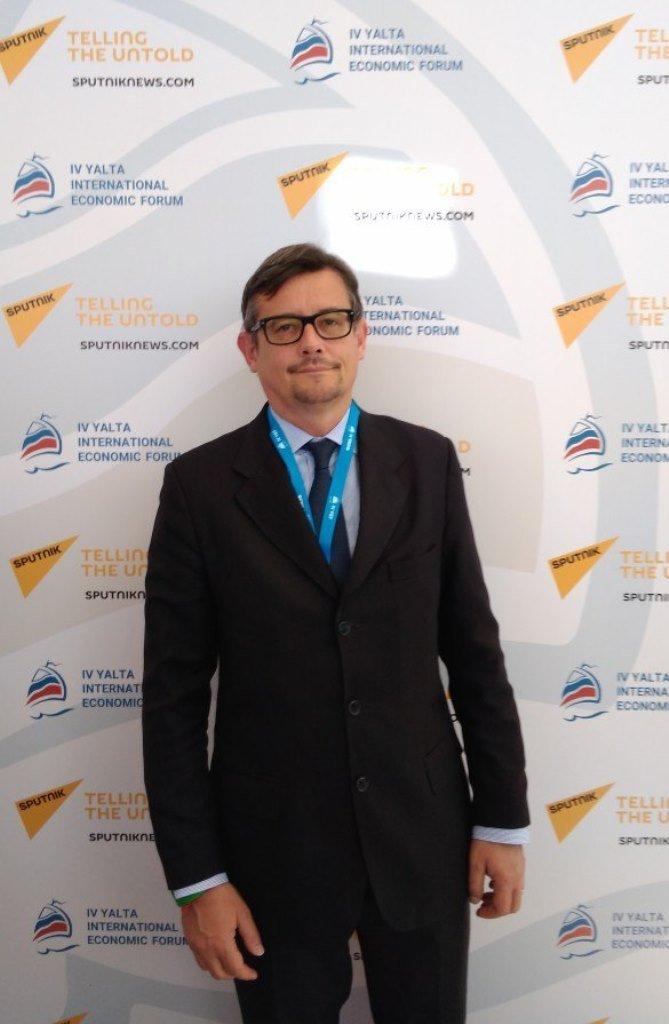 Fabrizio Candoni, presidente di Avietta Italia