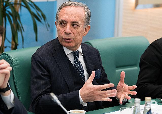 L'ambasciatore dell'Italia nella Russia Pasquale Terracciano