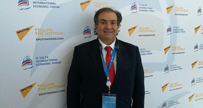 Francesco Lo Iudice, presidente della Camera di Commercio Magreb-Russia.