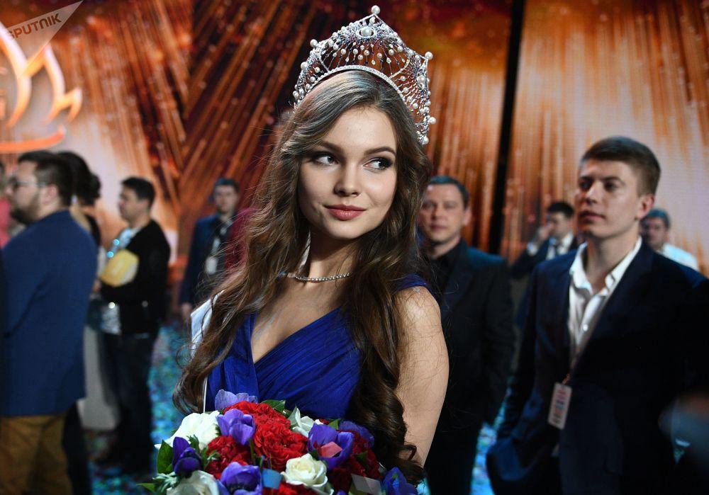 La nuova Miss Russia 2018 Yuliya Polyachikhina