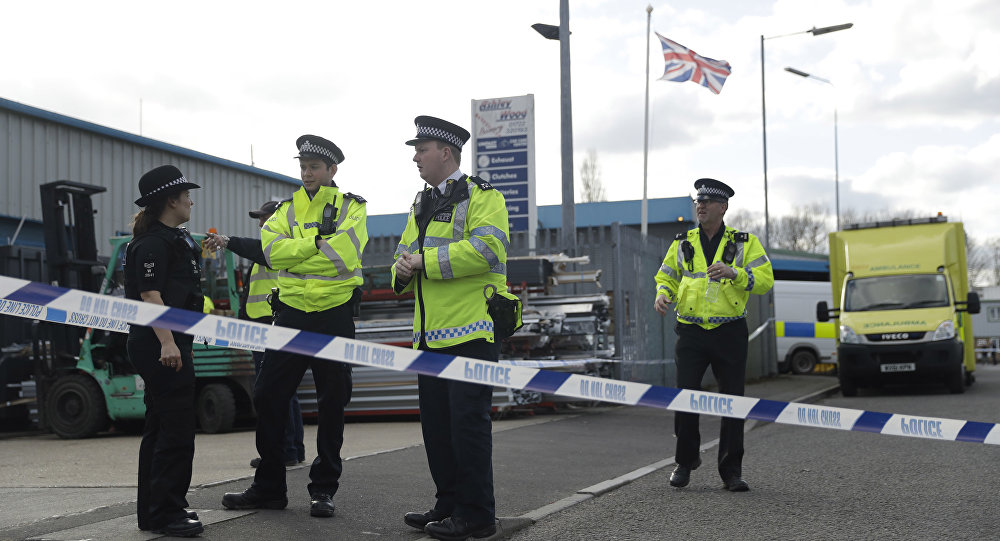 Polizia a Salisbury