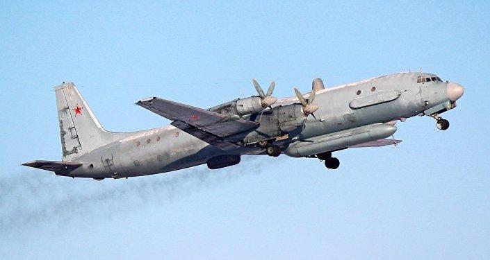 Aereo Il-20 dell'aviazione russa (foto d'archivio)