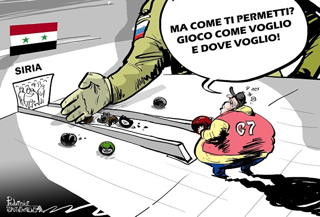 Il Gruppo dei sette si è espresso per il mantenimento delle sanzioni anti-russe imposte per le inaccettabili azioni della Russia in Ucraina e in Siria.