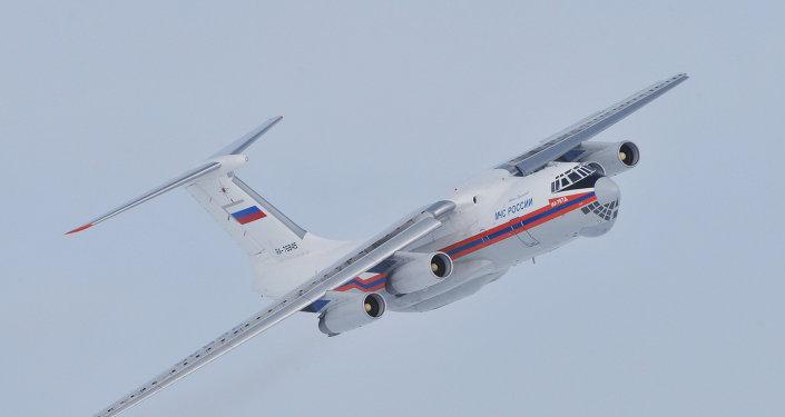 Un aereo militare IL-76