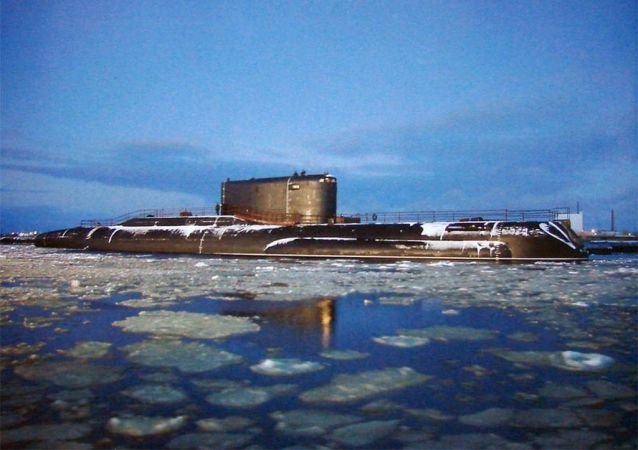 Il sottomarino russo B-90 Sarov