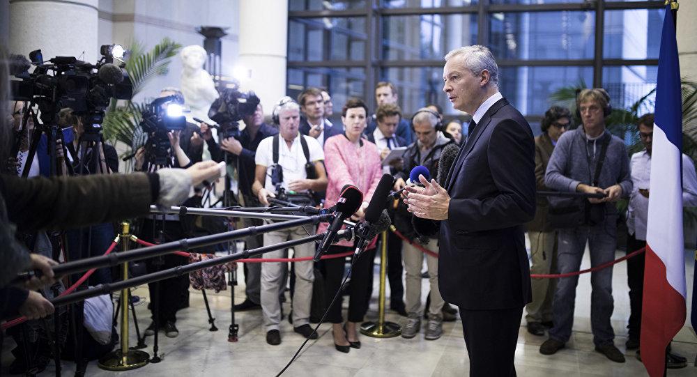 Il ministro dell'Economia francese Bruno Le Maire (foto d'archivio)