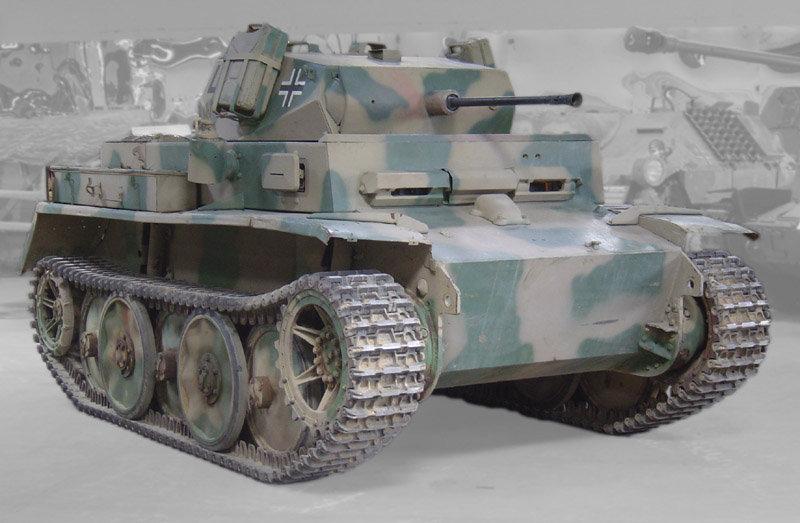 Il carro armato da ricognizione leggero Panzerkampfwagen II Ausführung L Luchs