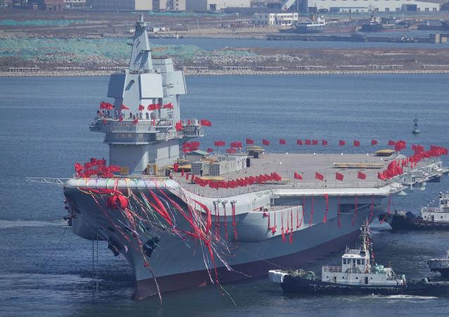 La prima portaerei sviluppata in Cina
