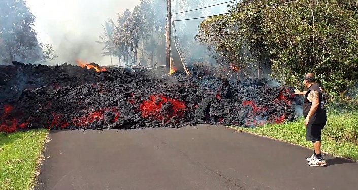 Eruzione alle Hawaii