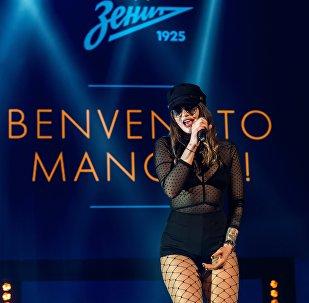 13 giugno 2017: Mancini viene presentato allo Zenit con la musica dal vivo