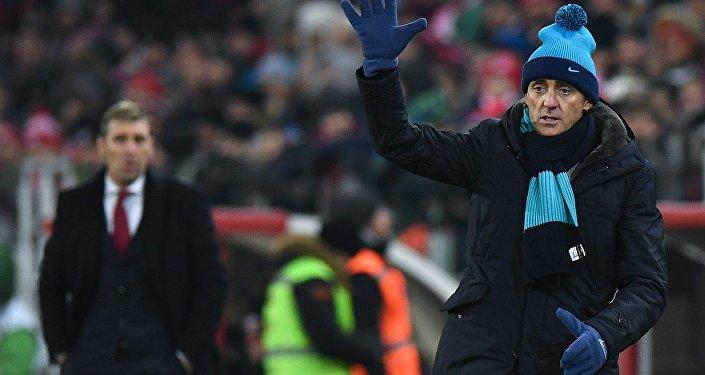 27 novembre 2017: derby italiano tra lo Spartak di Carrera e lo Zenit di Mancini