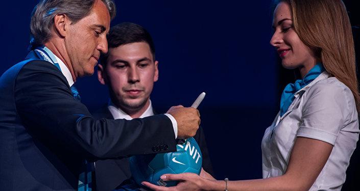 L'inizio dell'avventura di Mancini allo Zenit prometteva bene