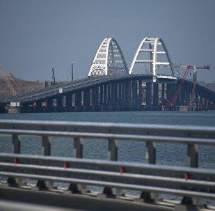 L'inaugurazione del ponte della Crimea
