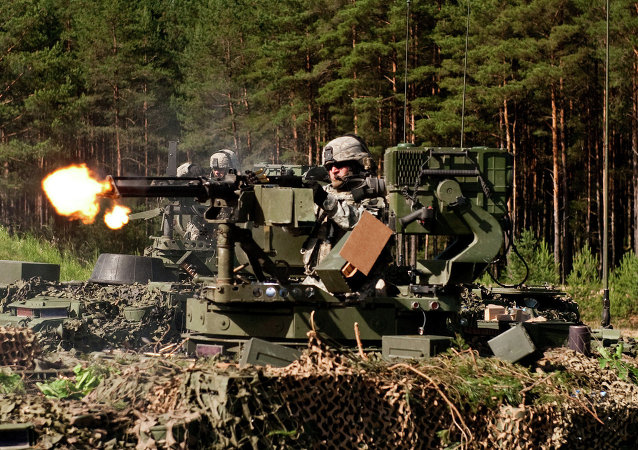Gunner.The exercise spans multiple locations in Lithuania, Latvia and Estonia