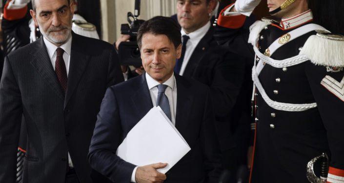Nuovo premier italiano Giuseppe Conte