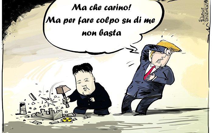 Trump accusa Kim Jong-un di annullamento dell'incontro