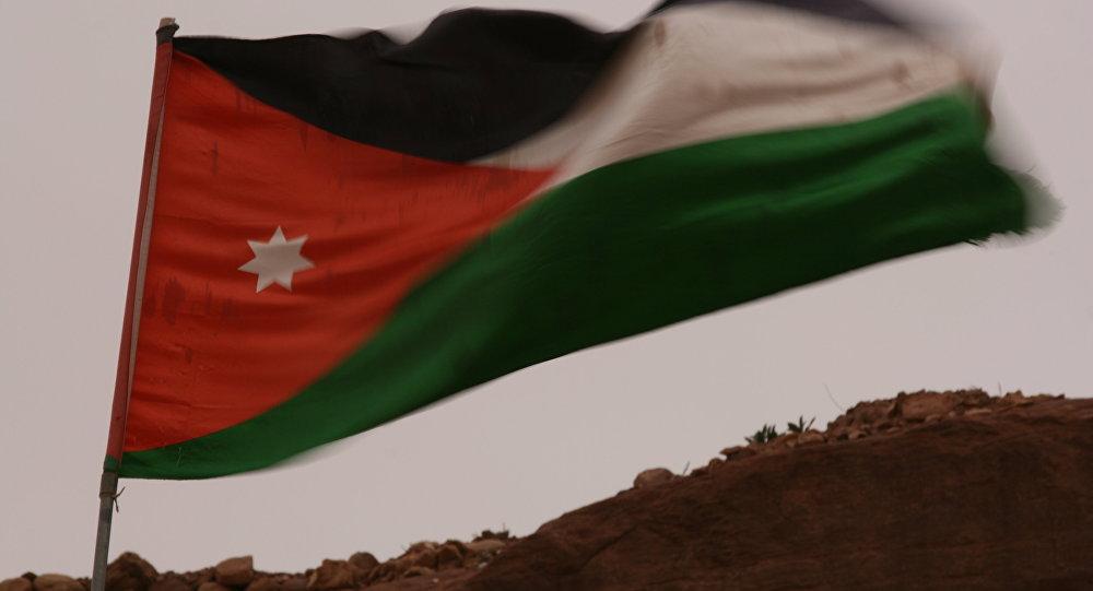 La bandiera della Giordania