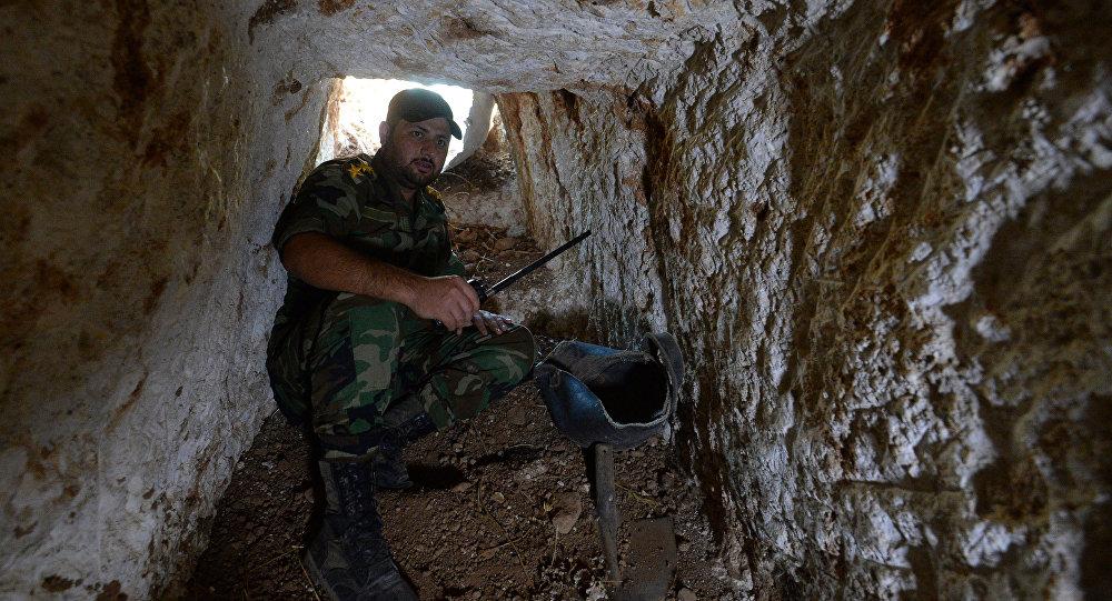 Un tunnel a Homs