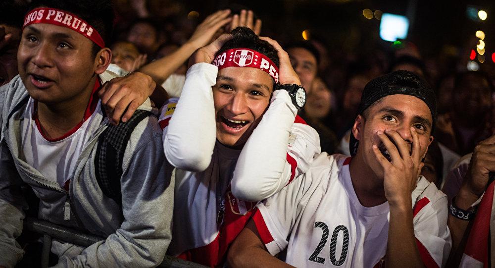 I tifosi peruviani