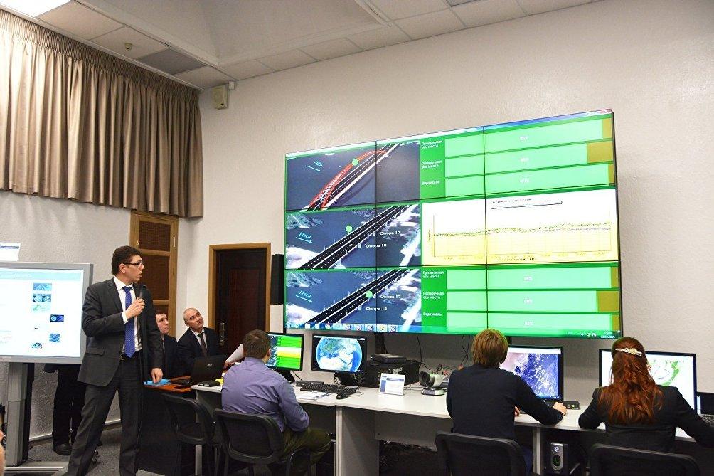 Il centro di addestramento al controllo dei voli dell'Università RUDN di Mosca