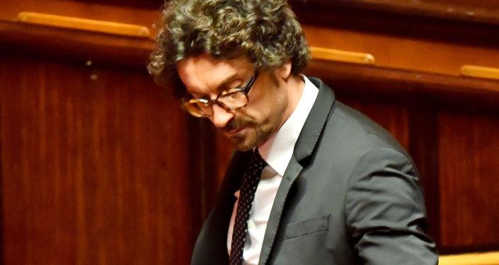 Il ministro delle Infrastrutture e trasporti Danilo Toninelli