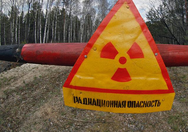 Ingresso di zona di alienazione di Chernobyl