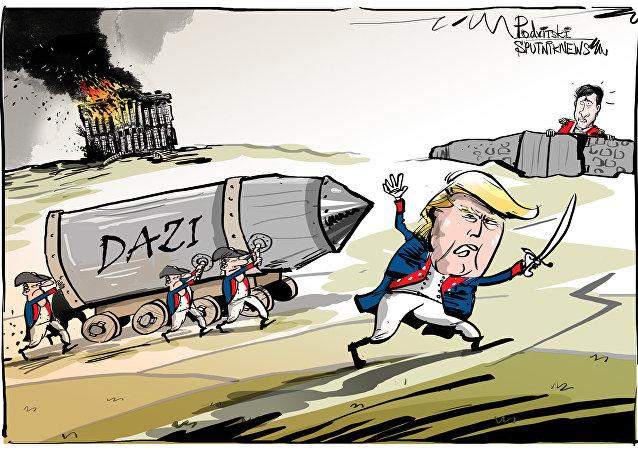 Trump ha ricordato al primo ministro del Canada l'incendio della Casa Bianca