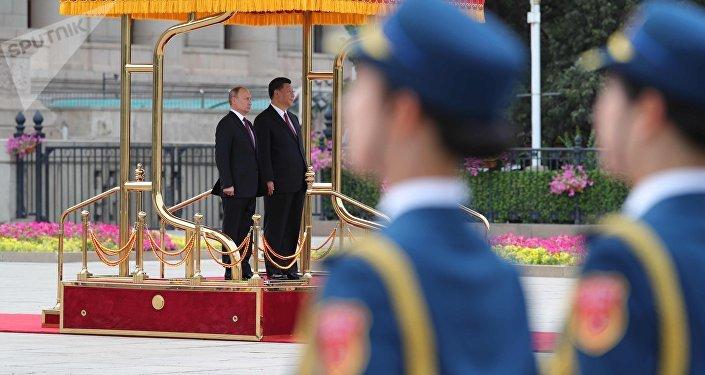 La visita del presidente Vladimir Putin in Cina.