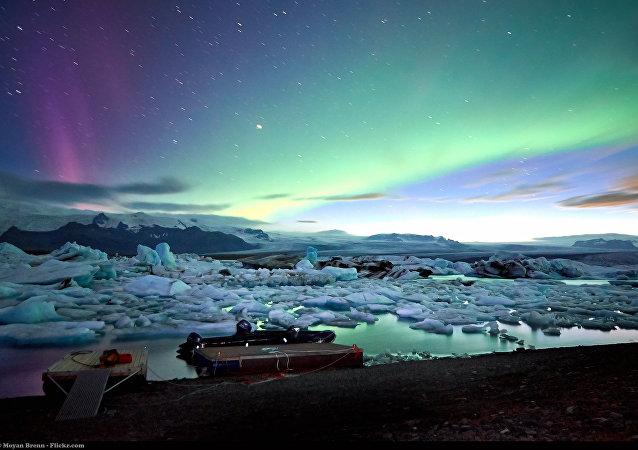 Islanda, Jokulsarlon glacier lagoon