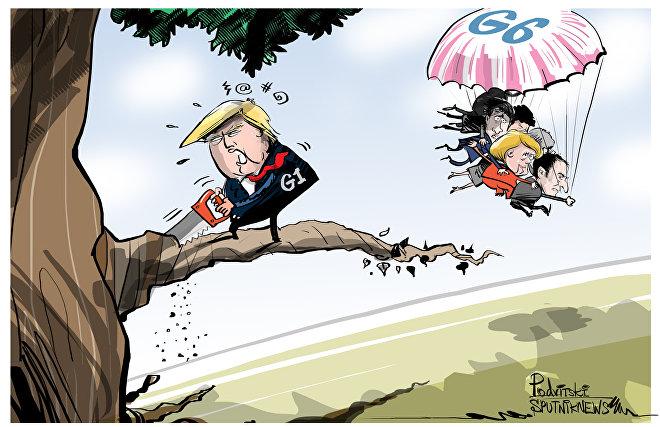 Il G7 senza Trump