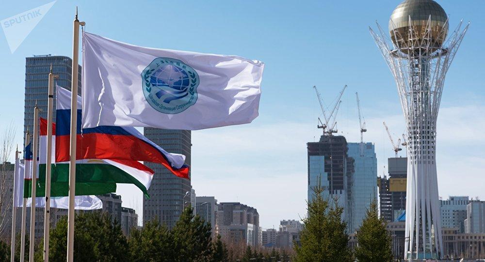 Bandiera della SCO