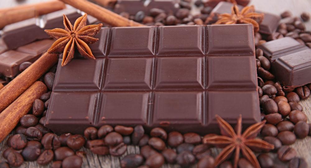 Una tavoletta di cioccolato