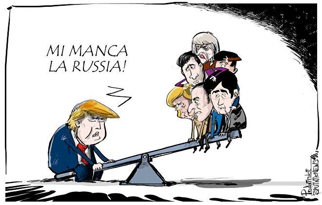 Trump vorrebbe la Russia nuovamente nel G8