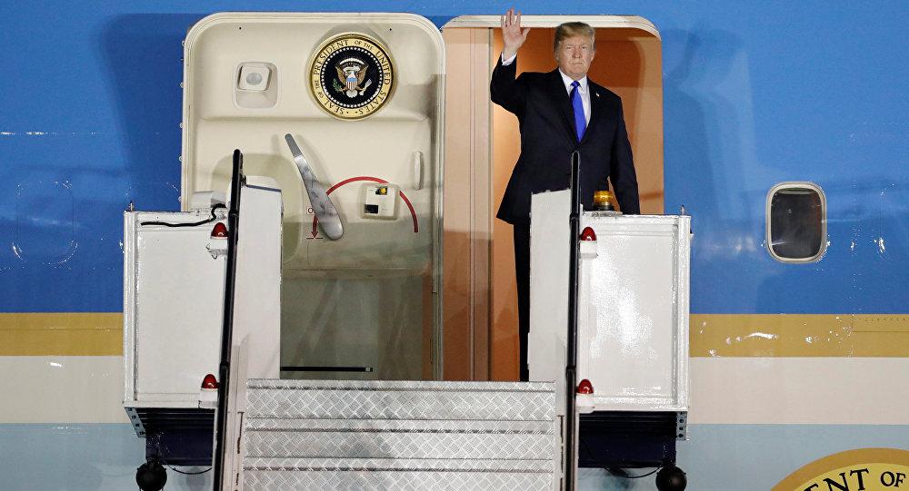 Donald Trump a Singapore