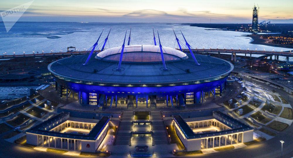 Lo stadio di San Pietroburgo, casa dello Zenit