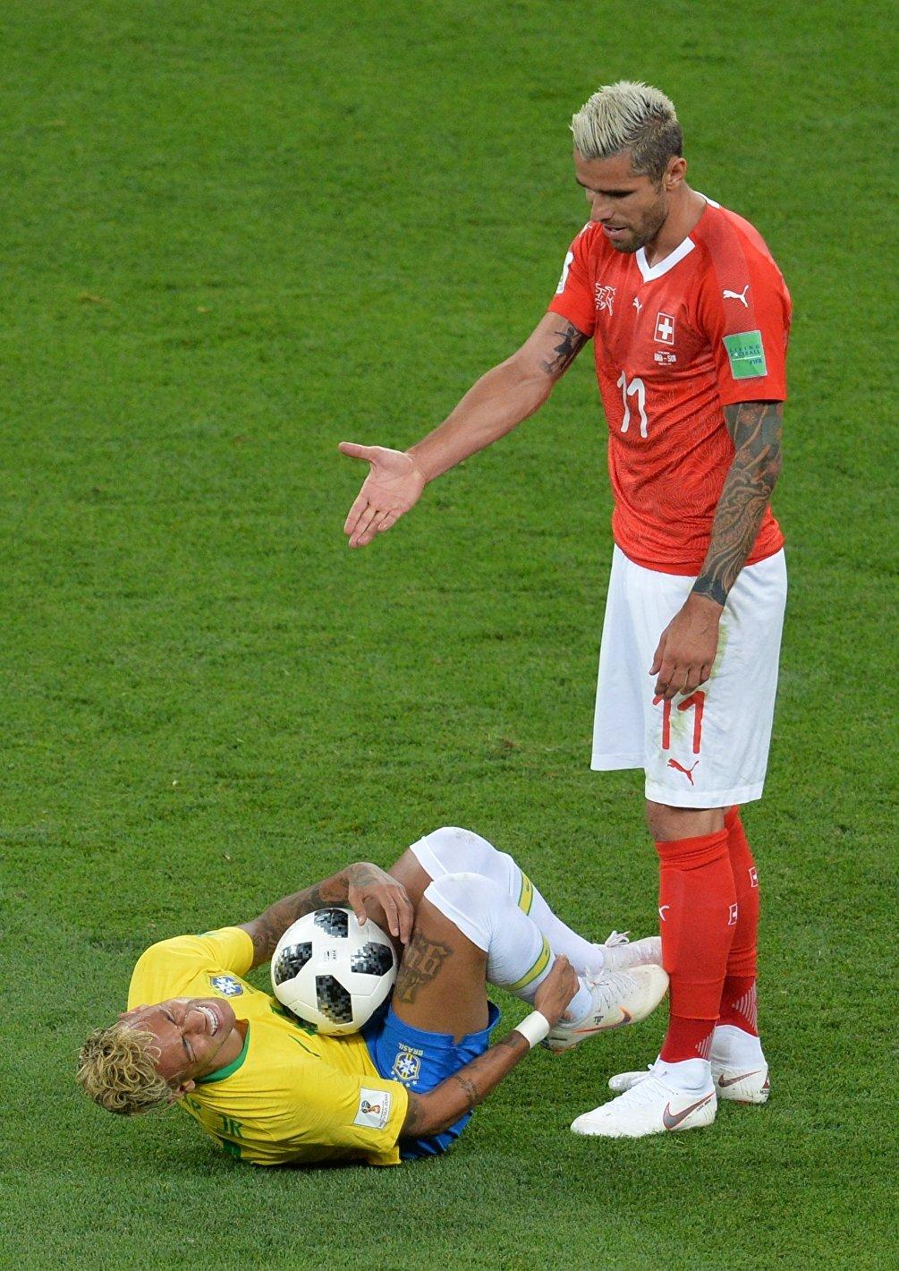 Squadra tosta, la Svizzera: ne ha fatto le spese anche la stella brasiliana Neymar